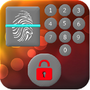 Lock with fingerprint program