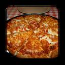 پیتزا پفکی با تصویر