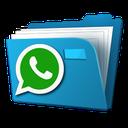 مدیریت فایل های واتس اپ+مخفی کننده