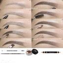 آرایش حرفه ای ابرو واصلاح ابرو+فیلم