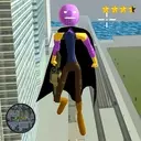 Flying Thanos Stickman Rope Hero Gangster Crime