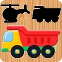 Baby Puzzles - Animals, Fruits & Cars 🧩🐋🚚