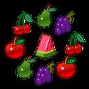 میوه ها رو له کن