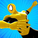 Spider Power Rope Hero - Super Crime City Battle