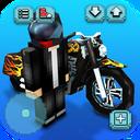 Motorcycle Racing Craft: Moto Games & Building 3D
