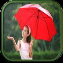 قاب عکس بارانی