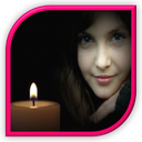 عکس تو قاب شمع
