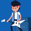 والپیپرزنده گیتارزن