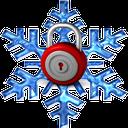 قفل صفحه زمستانی