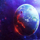پس زمینه کیهان و فضا