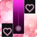 Heart Piano Tiles Pink