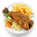 Italian cuisine with fish