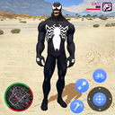 Neon Spider Rope Hero : Vice Town