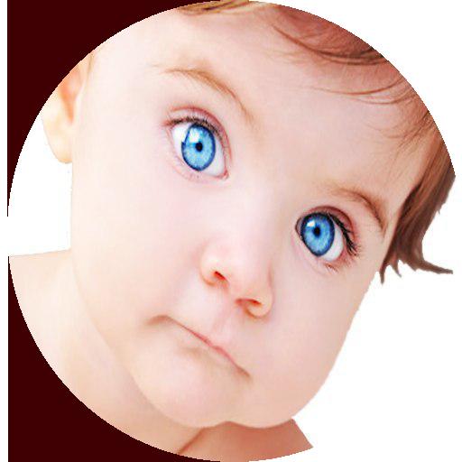 بچه چشم آبی میخوام