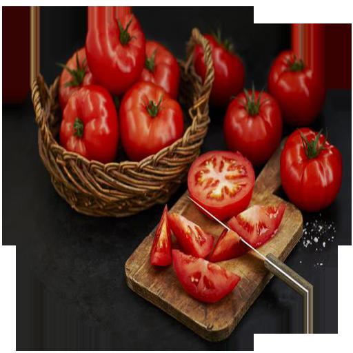 انواع غذا با گوجه