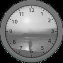 ابزارک ساعت تنهایی