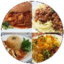 انواع غذا با مرغ جدید