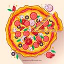 طرز تهیه انواع ساندویچ و پیتزا