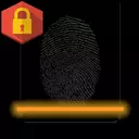 Lock screen with fingerprints