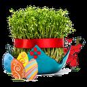 تزئین سبزه عید