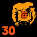 چالش ٣٠ روزه شکم
