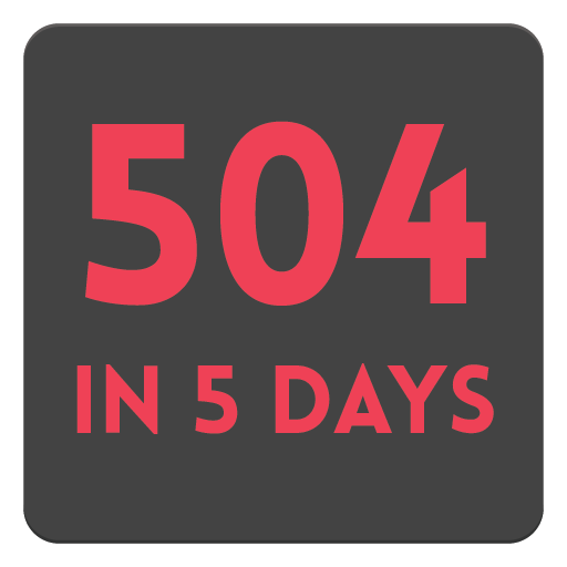 504 in 5 days