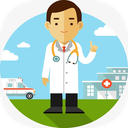 داروخانه و پزشک همراه بیماری شناسی