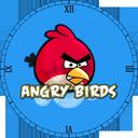 ساعت پرندگان خشمگین ( والپیپر زنده )