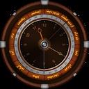 پس زمینه ساعت و تاریخ شمسی