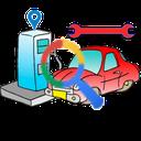 بنزین یاب (تعمیر ،رستوران ،آفلاین)