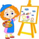 اموزش نقاشی و رنگ امیزی به کودکان