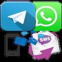 پیامک های تلگرامی