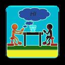 English conversation simulator