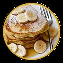 Varieties of Fruit And Pancakes