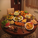 Decoration of fruit and food