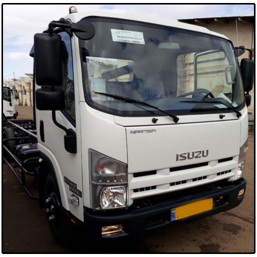 Deadly Cargo : Isuzu