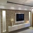 طراحی ودکوراسیون دیوار پشت تلویزیون
