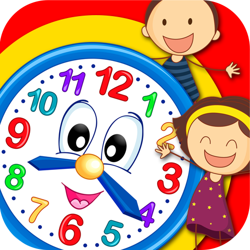 برنامه آموزش ساعت به کودکان - دانلود | کافه بازار