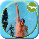 Teaching swimming backstroke