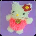 عروسک سازی ساده با کاموا و نمد