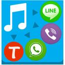 ارسال موزیک در (وایبر،واتس اپ،لاین)