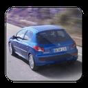 رانندگي با 206! 😎 ( ماشین بازی )