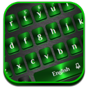 Green Black Metal Keyboard