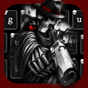 Dark Death Gun Warrior theme Keyboard