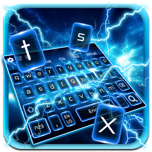 Lightning Screens Keyboard Theme