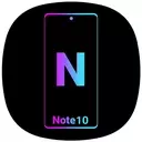 Note10 Launcher for Galaxy Note9/Note10 launcher