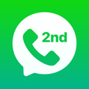 2nd Line: Second Phone Number for Texts & Calls