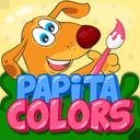 پاپیتا آموزش رنگ ها و نقاشی