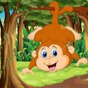 میمون دیوونه
