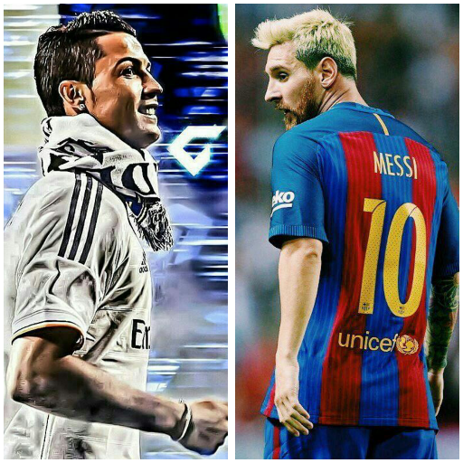 Messi Ronaldo Wallpaper For Android Download Cafe Bazaar
